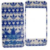 Folie de protectie - Folie protectie cu design iPhone 4 / 4S - Adidas ( fata + spate )