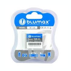 Baterie Aparat foto - BLUMAX | Acumulator compatibil Canon NB-4L NB-4LH NB4L NB4LH NB 4L NB 4LH | 750 mAh