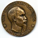 MEDALIE VIETNAM HO CHI MINH BRONZ DIMENSIUNI MARI