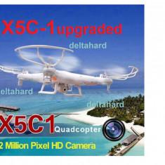 DRONA SYMA X5C-1 UPGRADED CAMERA HD, CARD 4GB, CITITOR
