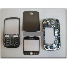 Carcasa blackberry 8520 black