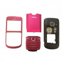 Carcasa Nokia C3 calitatea A roz