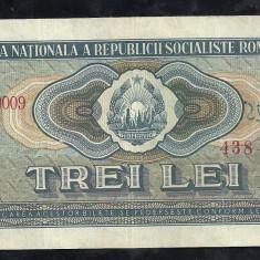 Bancnote Romanesti, An: 1966 - ROMANIA 3 LEI 1966 [2] XF