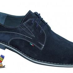Pantofi barbati Suave PIELE intoarsa naturala