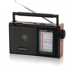 Aparat radio, Analog - Radio portabil Leotec LT- 31UAR Redare MP3(USB/SD