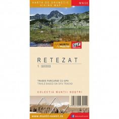 Harta Turistica - Schubert & Franzke Harta Muntii Nostri Harta Muntilor - Retezat MN06
