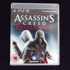 Assassins Creed - Revelations: PS3 - Folosit - Jocuri PS3 Ubisoft, Role playing, 16+, Single player