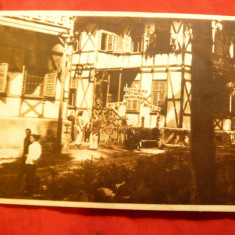 Ilustrata Tusnad - Casa de Odihna a PCA, cu lozinci comuniste, circulat 1951 - Carte Postala Transilvania dupa 1918, Circulata