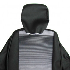 Huse scaune interior compatibile Logan I din 9 piese. Calitate Premium - Husa Auto
