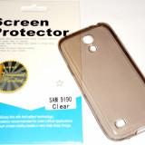 Husa Protectie Silicon Ultra Slim 0, 3 mm Samsung Galaxy S4 Mini + Folie CADOU!!! - Husa Telefon Samsung, Negru
