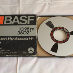 Banda Magnetofon BASF, rola aluminiu