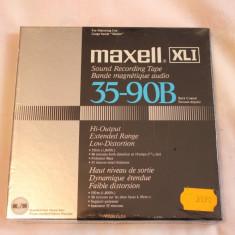 Banda magnetofon noua Maxell XL1