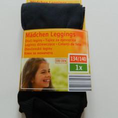 Dress, ciorapi, strampi, colanti, leggins pentru fetite, 100 DEN, termo, negri, marimea 8-10 ani, 134-140 cm - Ciorapi Copii