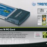Adaptor wireless - PC Card WiFi N