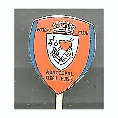 Insigna fotbal FCM Tg.Mures 2012