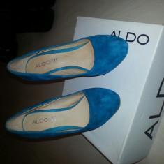 Pantofi Aldo albastru-turcoaz mar 38 - Incaltaminte dama
