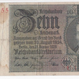 GERMANIA - 10 MARK 1924-1929