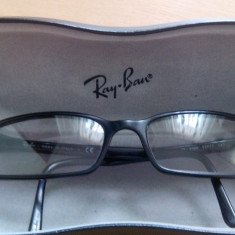 Rama Ray Ban - Rama ochelari Ray Ban, Unisex, Negru, Rama intreaga, Designer