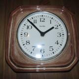 Ceas ceramic de perete, ceas rustic, ceas pentru bucatarii - Ceas de perete
