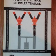 Carti Mecanica - APARATE ELECTRICE DE INALTA TENSIUNE de PROF.DR.ING. BERCU HERSCOVICI...I