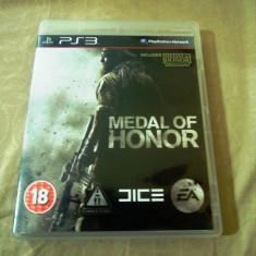 Joc Medal of Honor, PS3, original, alte sute de jocuri! - Jocuri PS3 Ea Games, Shooting, 16+, Single player