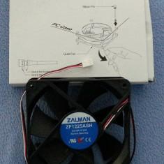 Vand Ventilator Zalman - ZF1225ASH - 120 mm - Cooler PC Zalman, Pentru carcase