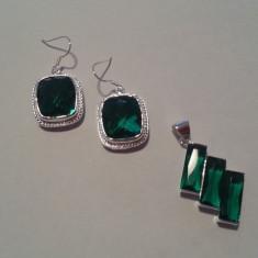 Set model 12 Pandantiv si cercei - Set bijuterii argint Meli Melo