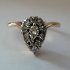 Inel logodna aur 14k cu diamante 0.50ctw (zeci de modele noi) - Inel de logodna