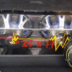 Subwoofer impulse acoustics plus amplificator sony explod - Subwoofer auto Sony, peste 200W