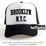 SAPCA, SEPCI TRUCKER, cu plasa, snapback - BROOKLYN NEW YORK 2 - exclusiv ! - Sapca Barbati, Marime universala, Din imagine
