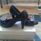 Vand pantofi de piele Batta - Pantofi dama, Marime: 39, Culoare: Khaki