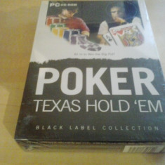 Jocuri PC, Sporturi, 3+ - Joc PC - POKER - Texas hold'em - BOX SET ( GameLand )