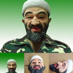 Masca carnaval - Masca Osama Bin Laden Halloween petrecere tematica bal mascat terorist +CADOU!