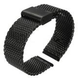 Curea ceas din metal - Bratara/curea metalica 22 mm. (MOTO 360 gen. 2 - 46 mm/LG URBANE/GEAR 2/PEBBLE)