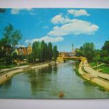Carte postala / Timisoara, pe malul Begai (anii 80), Necirculata, Fotografie, Romania de la 1950