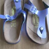 Papuci dama - Papuci NOI, slapi marca Birkenstock masura 39, slapi, papuci ortopedici