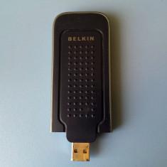 Adaptor wireless - Stick adaptor USB wireless Belkin F5D9050B v3