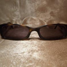 Chanel, ochelari de soare unisex, originali - Ochelari de soare Chanel, Maro, Plastic