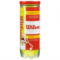 Minge tenis de camp - Set Mingi Tenis, Wilson, Championship 3 Tball Wilson