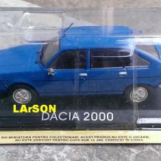 Macheta auto, 1:43 - Macheta metal DeAgostini Dacia 2000 NOUA+revista Masini de Legenda nr.63
