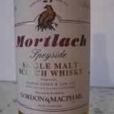 Whisky MORTLACH, single malt scotch whisky, 21yo, cl.70 gr.43