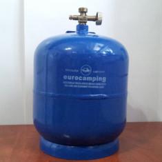 Butelie voiaj/camping 5 litri-butelie cu arzator inclus 5litri, butelii camping - Aragaz/Arzator camping