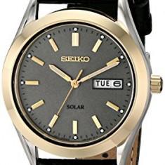 Seiko Men's SNE050 Solar Strap | 100% original, import SUA, 10 zile lucratoare a12107 - Ceas barbatesc Seiko, Quartz