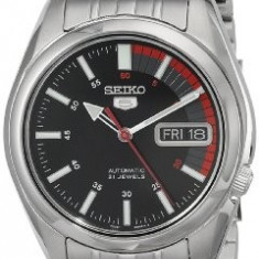 Seiko Men's SNK375 Automatic Stainless | 100% original, import SUA, 10 zile lucratoare a12107 - Ceas barbatesc Seiko, Mecanic-Automatic