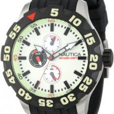 Nautica Men's N16509G BFD 100   100% original, import SUA, 10 zile lucratoare a12107 - Ceas barbatesc Nautica, Quartz