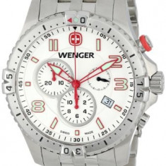 Wenger Men's 77059 Squadron Chrono | 100% original, import SUA, 10 zile lucratoare a22207 - Ceas barbatesc