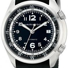 Hamilton Men's H76455933 Khaki Aviation   100% original, import SUA, 10 zile lucratoare a32207 - Ceas barbatesc Hamilton, Mecanic-Automatic