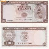 TIMOR 100 escudos 1963 UNC!!! - bancnota asia