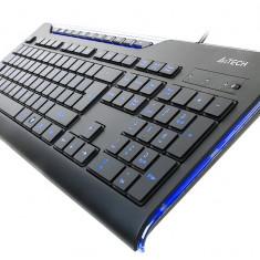 Tastatura A4Tech KD-800L iluminata, neagra