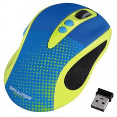 Mouse Hama Knallbunt 2.0, optic wireless, galben